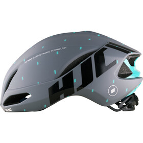 HJC Furion casco per bici, matt pattern grey